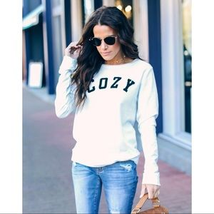 Tops - ▪️🆕Let's Get COZY-White